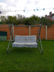 Garden swinging chair, cost £300 Free local delivery from Peterlee are