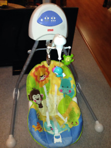 Fisher Price cradle and swing (98% new)