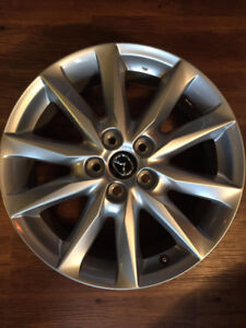 """2017 OEM RIMS 18"""" 4 Wheels - NEW swapped off at dealership"""