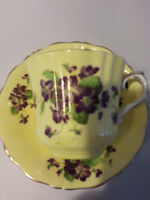 Old Royal Bone China Cup and Saucer