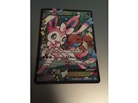 Sylveon EX Pokémon trading card