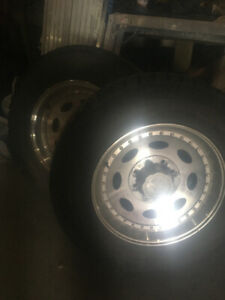 Selling Vision Heavy Hauler Rims and Tires