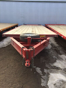 "USED ""Trailtech"" Highboy flat deck trailer (34808/1406)"