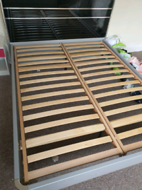 Kings size bed with mattress