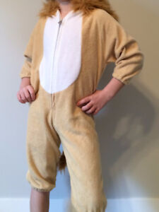 REDUCED TO $7 Lion costume - Childrens