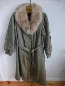 Manteau Pelisse 3 en 1 - 3 in 1 Fur Lined Coat