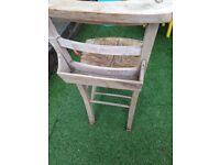 Old church chair