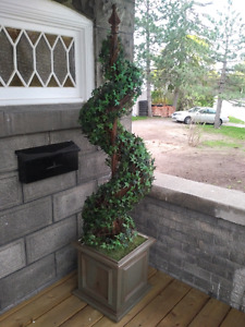 Decorative faux topiary / house plant
