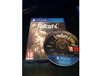 Excellent condition 4x PS4 Games