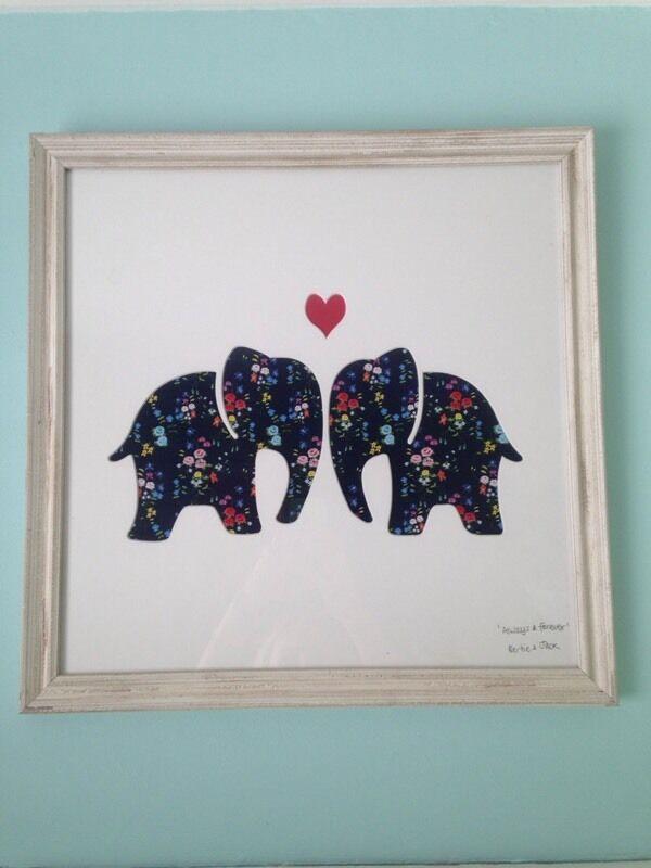 Bertie & Jack framed elephant print   in Cyncoed, Cardiff   Gumtree