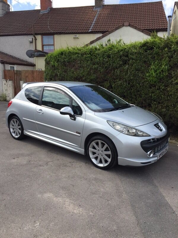 peugeot 207 gti turbo or swap in fishponds bristol gumtree. Black Bedroom Furniture Sets. Home Design Ideas