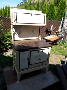 WORKING CONDITION WOOD COOK STOVE