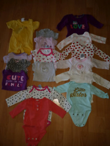 0-3 months & 3-6 month girl clothing