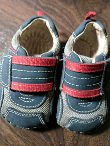 Pediped Velcro Shoes, Size 12-18 months