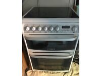 Double oven fan cooker