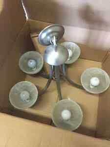 2 Chandeliers and extra light sconces Windsor Region Ontario image 1