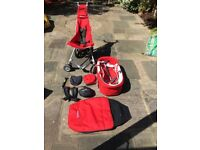 Pushchair/Pram with Carrycot - Micralite