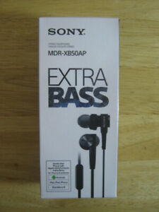 Sony Extra Bass Earbuds