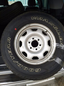 Like new Tires and Rims (set of 4)