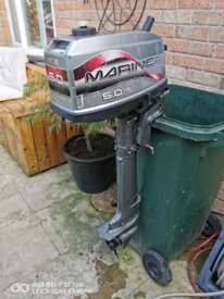 Mariner 5hp 2stroke longshaft outboard boat engine