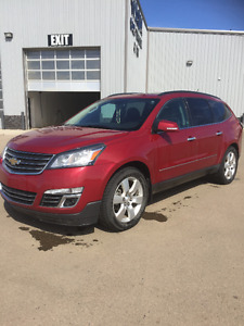 2013 Chevrolet Traverse LTZ SUV, with full Warr to 165,000kms!