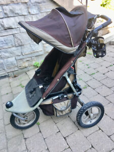 Valco Baby Tri Mode Runabout stroller + rain cover
