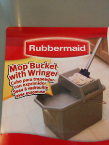 3 x Rubbermaid Mop Bucket --- see pictures