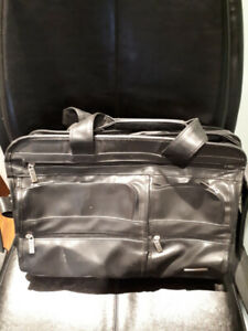 Black leather bag $15