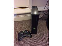 Xbox 360 slim 4GB with 60GB Hardrive