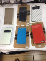 LOT D ETUIS PUR IPHONE 6 ET  6 PLUS