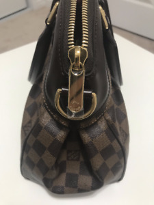 Louis Vuitton N51997 Brown Leather Shoulder Bag
