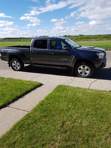 2015 Toyota Tacoma TRD Pickup with Blizzak winters on rims