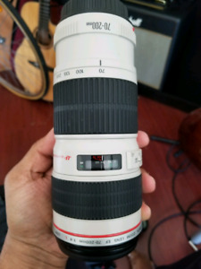 For Sale: canon F 1.4 70-200 mm USM zoom lens