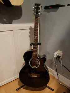 Tanglewood TSF CE BK Evolution Electro-Acoustic Guitar St. John's Newfoundland image 2