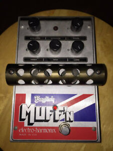 EHX English Muffn Guitar Pedal (power adapter included)