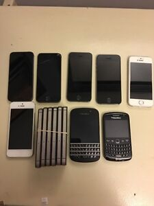 Unlocked iPhones ,Blackberries and Samsungs