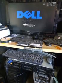 Dell poweredge 2850 server rack xeon 16gb