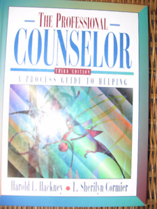 Book: The Professional COUNSELOR: Guide to HELPING OTHERS