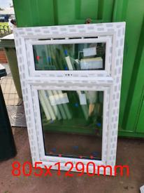 X6 upvc windows brand new fully glazed bargain £75 each
