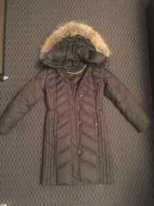 MARC NEW YORK by Andrew Marc Down Jacket with Fur Trim Hood