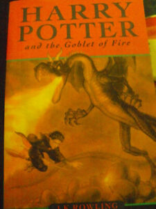 A MINT COND SOFT COVER HARRY POTTER And the goblet of fire book