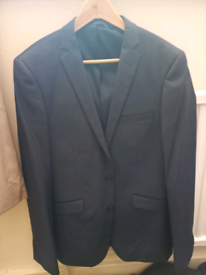 Burton grey suit