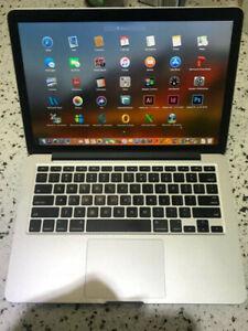 13-inch MacBook Pro Retina 2015 - 3.1GHz I7 256gb SSD 16GB
