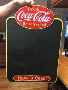 1959 Coca-Cola Chalkboard Sign