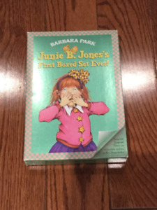 Junie B Jone's First Ever Box Set (Books 1-4) - Great Condition