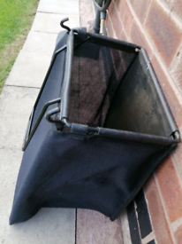 Lawnmower grass collector bag