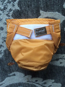 Kushies cloth AIO diaper toddler size