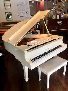 High Gloss White Baby Grand - inc Delivery & Tuning Norwood Norwood Area Preview