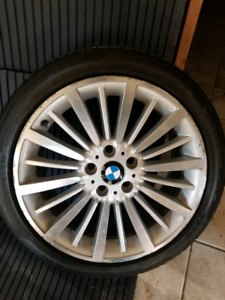 BMW OEM rims and tires
