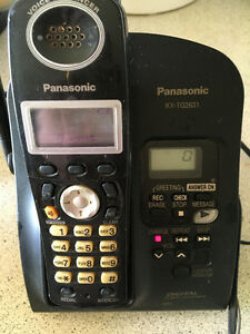 Panasonic cordless phone with answering macnine